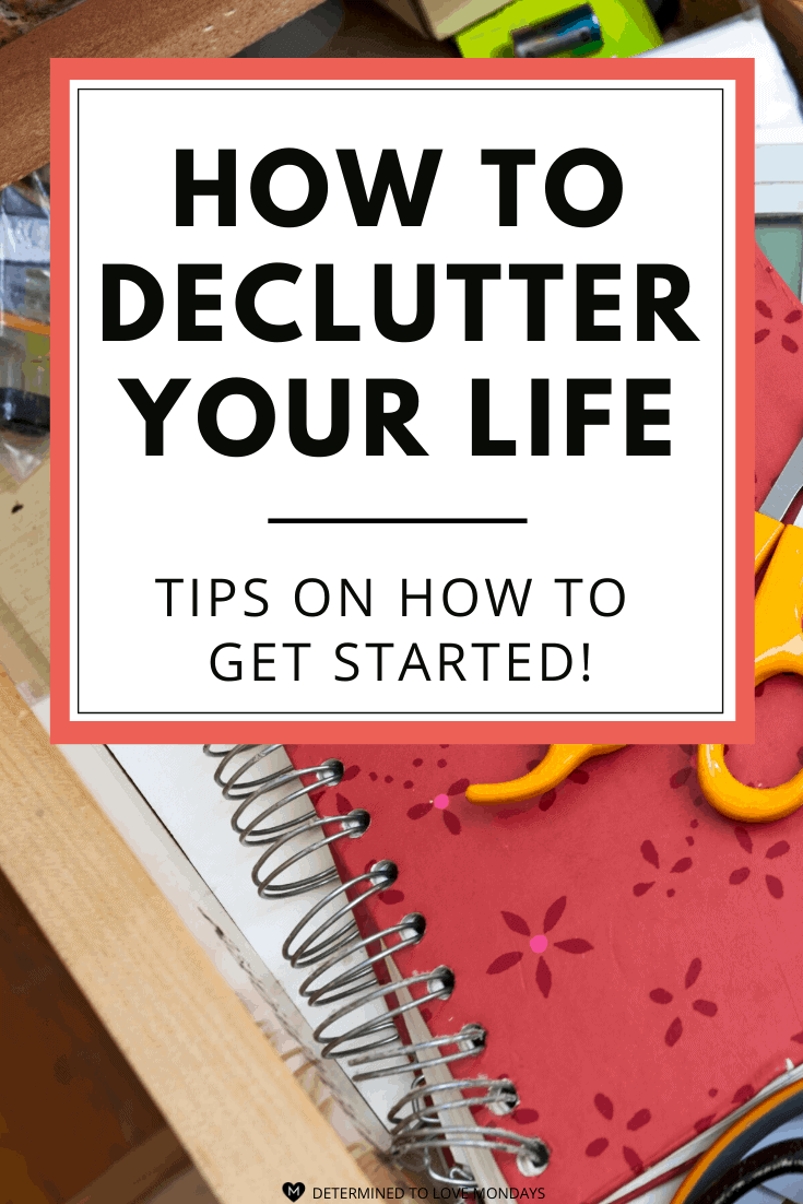 Feeling Stuck? Try Decluttering