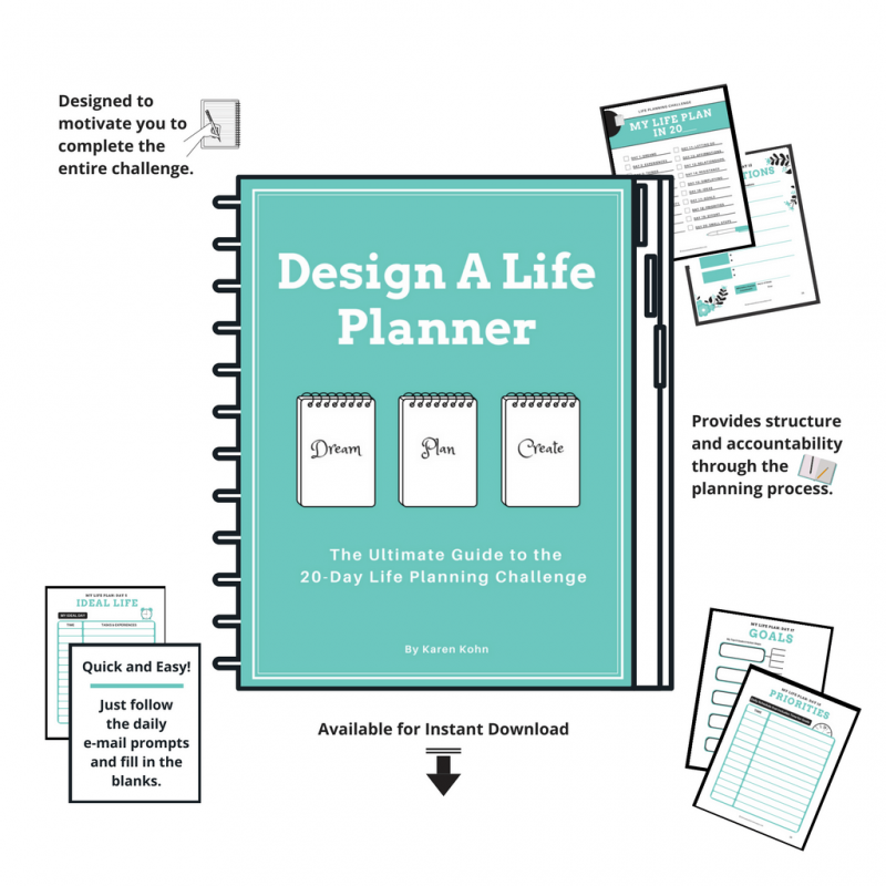 Design a Life Planner: The Ultimate Guide to the 20-Day Life Planning Challenge